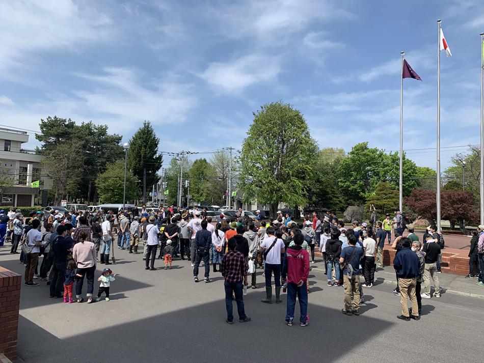 今年も旭川家具工業協同組合の植樹祭に参加しました!